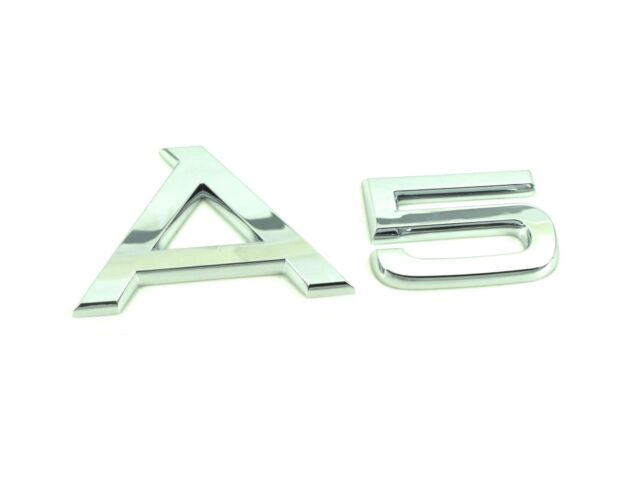 Genuine New AUDI A5 BOOT BADGE Rear Emblem 2008+ TDI TFSI FSI Quattro S Line