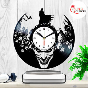 Joker-Batman-Vinyl-Record-Wall-Clock-Arkham-Asylum-Knight-Comic-Decor-Best-Gifts