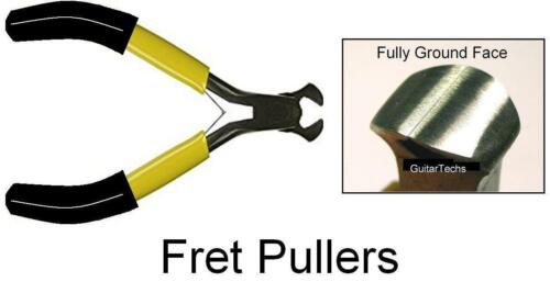 GuitarTechs FRET PULLERS - Quick Ship from USA  Flush-Ground Luthier Guitar Tool