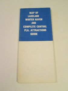 Map of Lakeland Winter Haven Central Florida Attractions Guide City Central Florida Attractions Map on