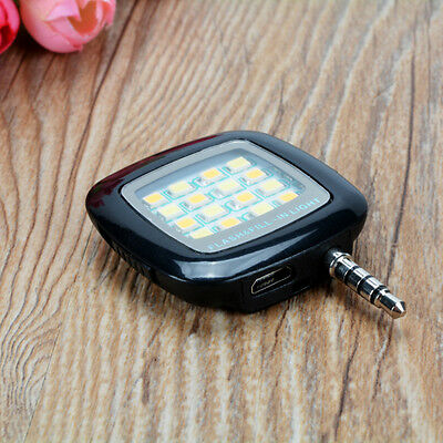 1 Piece Portable Mini LED Lamp Camera Fill-in Flash Light for Cell Phone Selfie