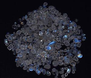 Wholesale-Lot-Blue-Rainbow-Moonstone-Mix-Shape-Cabochon-Loose-Mix-mm-Gemstone