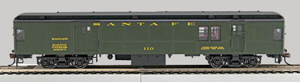 HO P-54 Santa Fe Borsa-mail, verde sides,Bk roof  110  0001-0940369-B