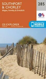 Southport-and-Chorley-by-Ordnance-Survey-9780319244821-Brand-New