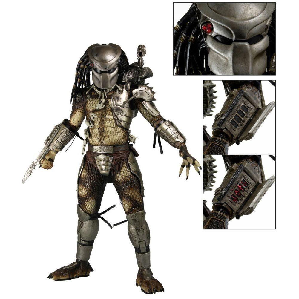 NECA Predator Jungle Hunter Predator Action Figure with LED 1 4 Scale NIB RARE