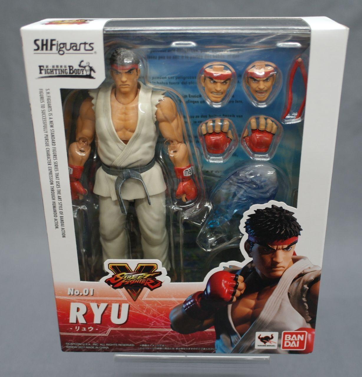 SH S.H. Figuarts Ryu Street Fighter bandai Japan NEW