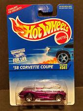 1996 Hot Wheels #341 : '58 Corvette Coupe 5 Spoke Rims - 2015