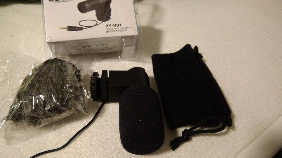 Mikrofon, Boya, Bv-v01