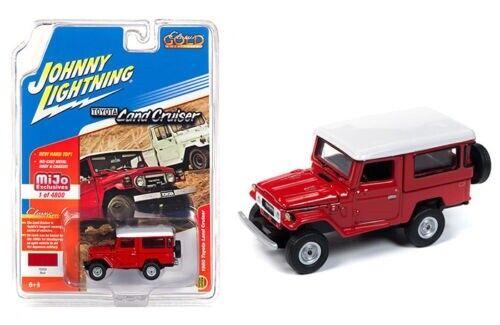Johnny Lightning mijo 1:64 venta * RR 1980 Toyota Land Cruiser hardtop red
