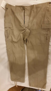 NWTs-MILITARY-STYLE-PROPPER-COMBAT-TROUSER-PANTS-TAN-BEIGE-XXX-LARGE-REGULAR