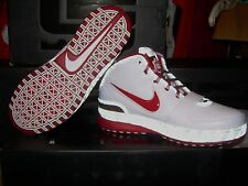 2008 NIKE AIR ZOOM LEBRON VI 6 OHIO STATE Size 8.5 Basketball Shoes NEW IN BOX!