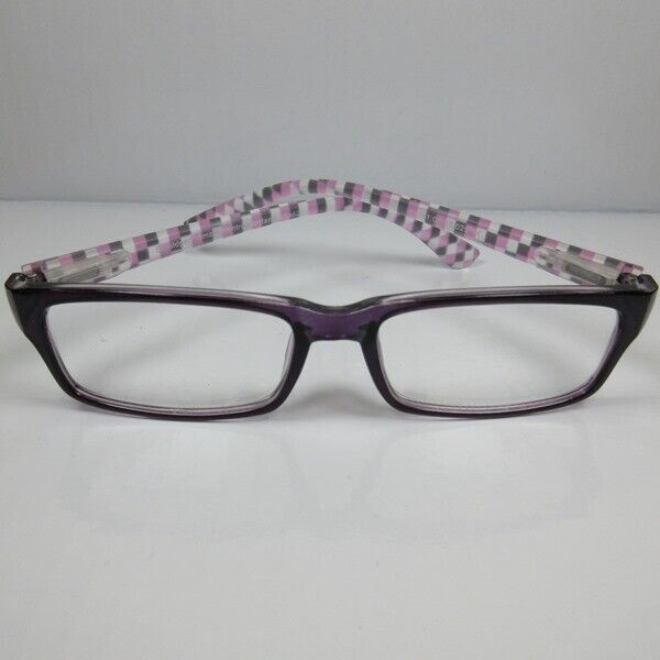 Moderne Lesebrille 2,5 lila für Damen Herren Lesehilfe mit Flexbügel Sehhilfe