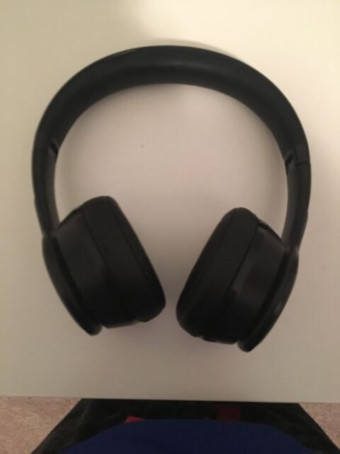 Blackweb Bwa18aa007 Over Ear Wireless Headphones With Active Noise Cancellation Black For Sale Online Ebay