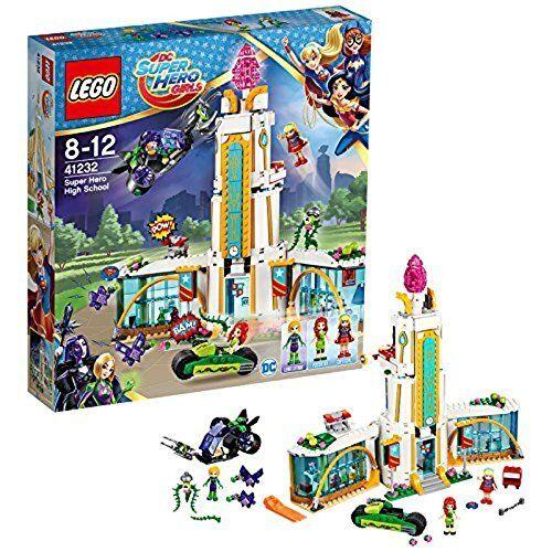 Lego DC súper Hero Girls 41232 - Set Costruzioni Il Liceo dei súper Eroi
