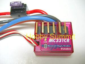 Futaba-MC331-CR-SPEED-CONTROLLER-w-Reverse-re-Tamiya-R-C-Truck-Car-Buggy-Boat