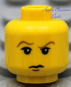 NEW Lego Pirate BOY MINIFIG HEAD w/Smirk Grin -City/Castle/K<wbr/>ingdoms/Harry Potter