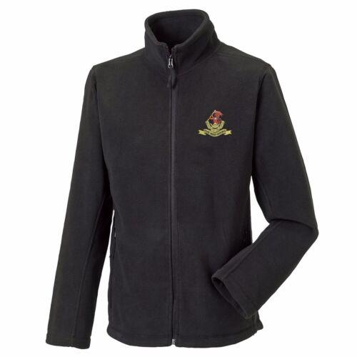 The Duke of Wellington Regiment Full Zip Fleece Embroidered Logo