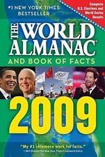 The World Almanac and Book of Facts 2009, World Almanac Books, 1600571050, Book,