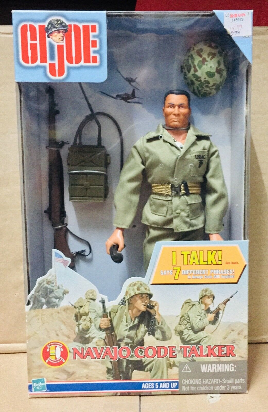 GI JOE    NAVAJO CODE TALKER 3bc5bb