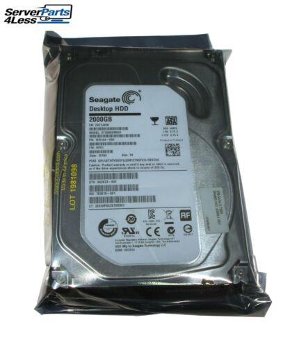 684595-001 674961-001 2.0TB SATA-3 6GB//s SQ HARD DRIVE 7200 RPM