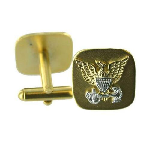 USCG Issue Made in USA USCG Coast Guard Cuff Links Officer  NEW