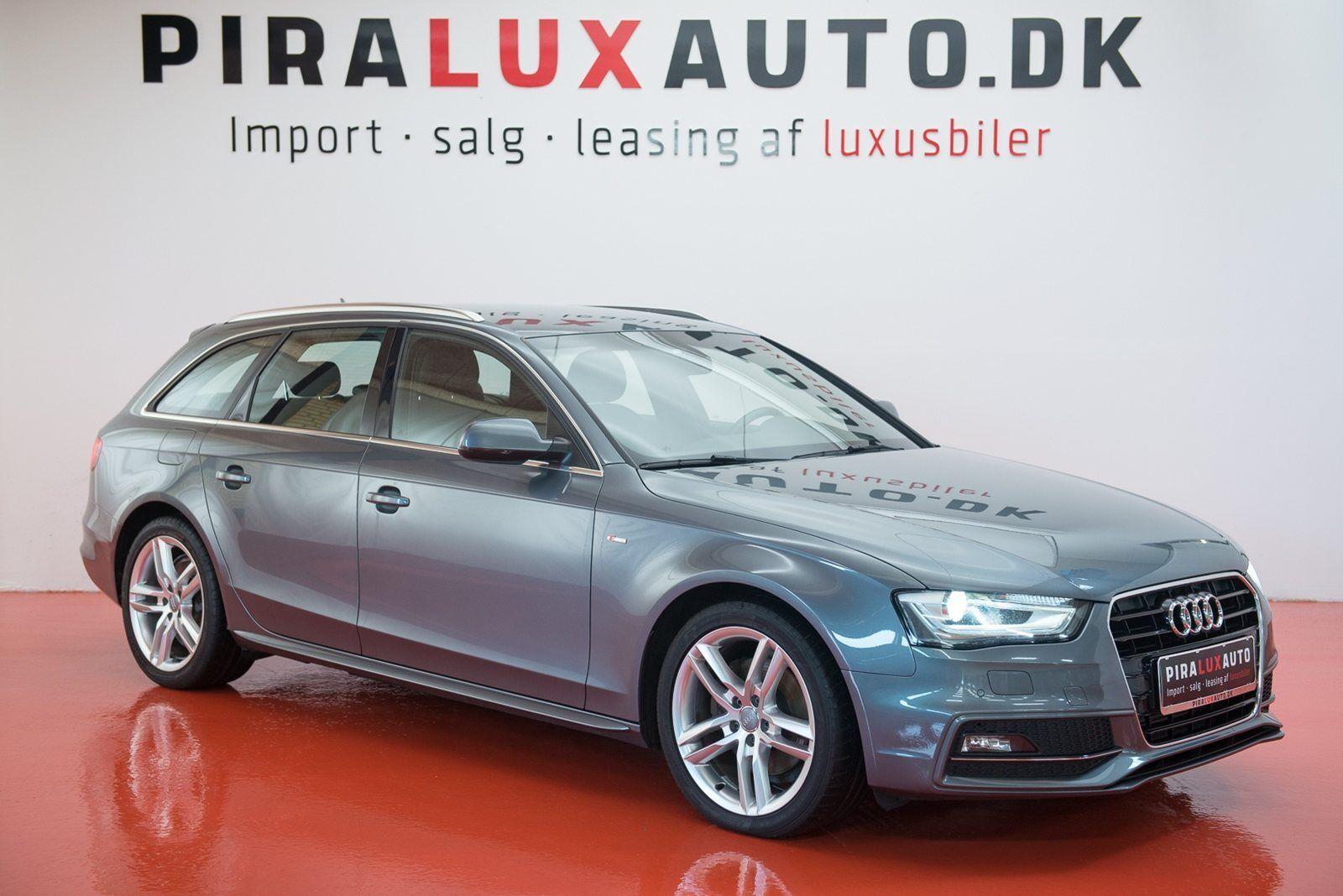Audi A4 2,0 TDi 177 S-line Avant Multitr. 5d - 279.900 kr.