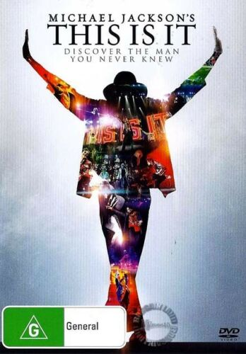 1 of 1 - Michael Jackson's THIS IS IT : NEW DVD