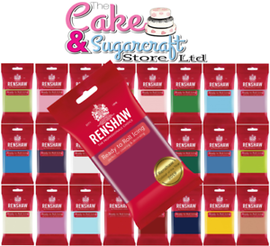 Renshaw-Ready-to-Roll-Icing-250g-500g-750g-1kg-All-Colours-Free-Post