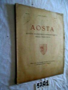 AOSTA RIVISTA  DELLA PROVINCIA  MAGGIO GIUGNO ANNO IX   (57A1)