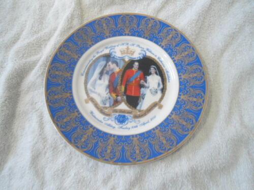 Royal Wedding Prince William /& Catherine Middleton Plate