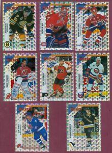 1993-94 PANINI STICKERS NHL HOCKEY CARD STICKER 145-276 + FOIL A-X SEE LIST