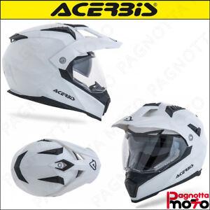 CASCO-HELMET-INTEGRALE-MOTO-CROSSOVER-ENDURO-ACERBIS-FLIP-FS-606-BIANCO