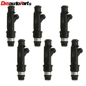 Set 6 Fuel Injector 25166922 For Isuzu Rodeo Honda Passport Acura 3.2L 3.5L V6