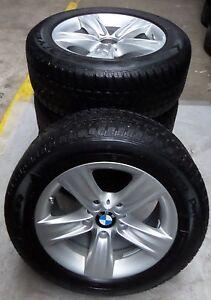 4-BMW-Winterraeder-Styling-391-3er-F30-F31-F36-BMW-225-55-R16-95H-M-S-ALUFELGEN