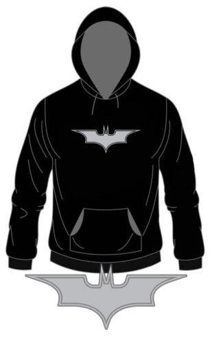 """Kapu /""""Batman Dark Knight/"""" pressione argento S-XXL Hoody Con cappuccio-SWEATER"""