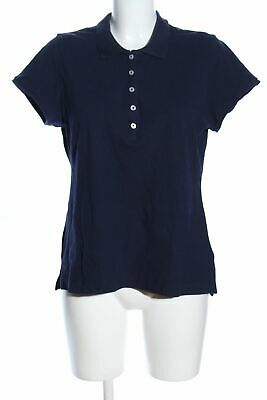 H&M L.O.G.G. Camiseta tipo polo azul look casual Mujeres