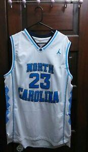 new concept 9cfff 18617 Details about North Carolina Michael Jordan College Jersey - NCCA Throwback  Tarheels Jersey