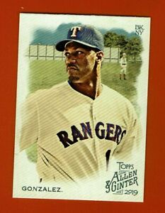 2019-Topps-Allen-amp-Ginter-Juan-Gonzalez-131-Texas-Rangers