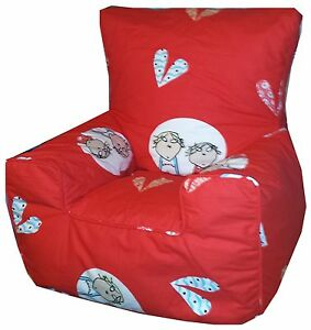 Image Is Loading Charlie And Lola Children Amp Toddler Bean Bags