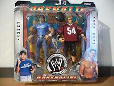 2005 WWF WWE Jakks Paul Heyman Heidenreich Wrestling Figures MIP Adrenaline 11
