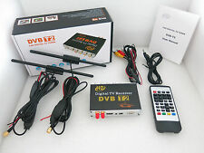 Car TV Tuner DVBT2 Digital TV Receiver Box for Russia Israel Germany UK Italy