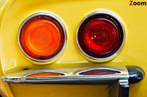 Leinwand Bild Opel GT Oldtimer Klassiker Gelb Auto Bilder XXL Sportwagen Coupe