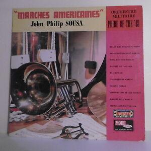 3T-John-Philip-SOUSA-Disk-LP-12-034-STEPS-AMERICAN-Military-FASHION-D-9039