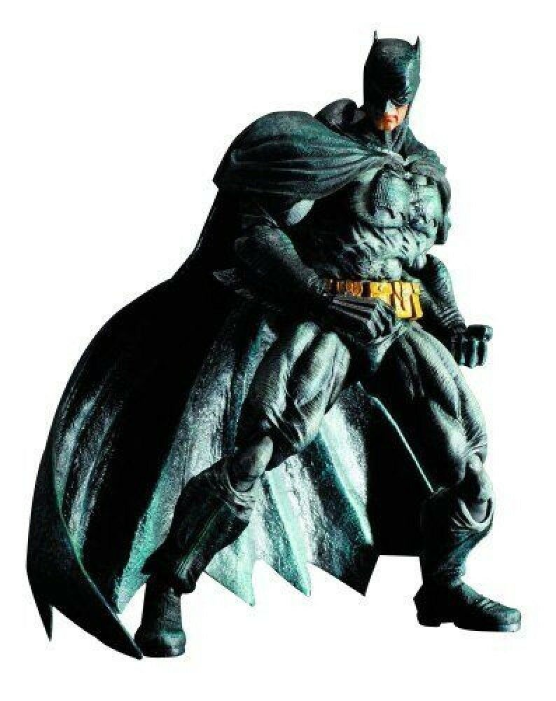 BATMAN TM ARKHAM CITY PLAY ARTS Kai TM Dark Knight Returns TM skin PVC F S