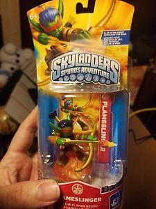 Skylanders-FLAMESLINGER-Game-Character-Figure-1st-Version-Spyros-Adventure-NEW