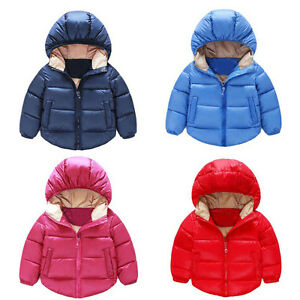 bbe18c887 Newborn Baby Kids Girls Boys Coat Outerwear Cute Jacket Winter Warm ...