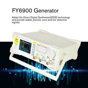 FY6900 DDS Signal Generator Dual Channel Arbitrary Waveform 250MSa/s/14bits 60M