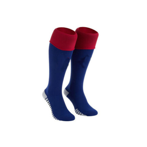 New Youth Kids Men Women Long Football Socks Sports Soccer Training Stocking UK