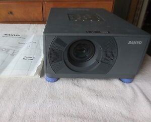 sanyo model plc su10n multimedia projector w manual bulb out ebay rh ebay com Projector Multimedia Sanyo Plc-9000Nl Sanyo Multimedia Projector PLC-XU75