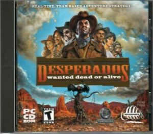 Desperados Wanted Dead Or Alive By Infogrames Pc Game Cd Rom Shooter Strategy Ebay